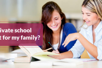 Is private school right for my family?