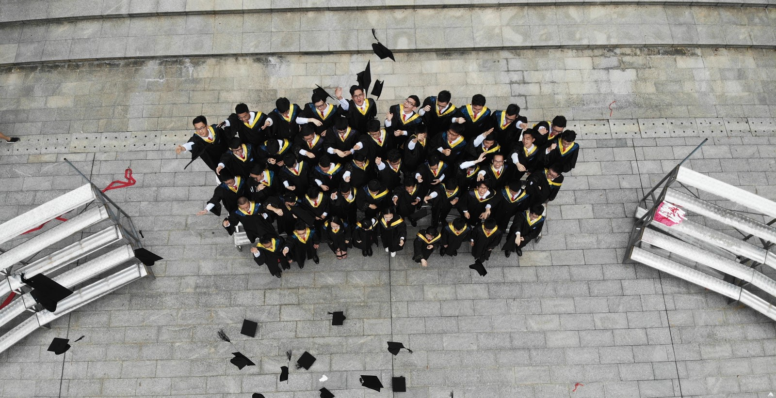 Students graduating from toronto high school